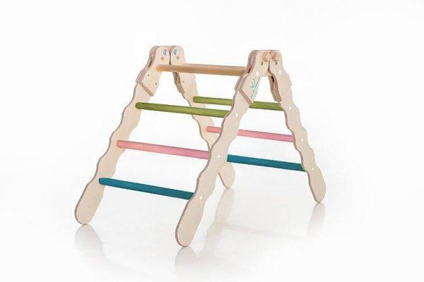 triangle de pikler coloré