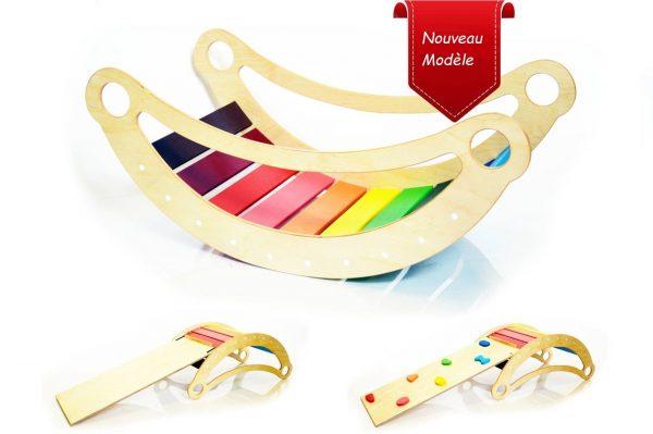 Rainbow rocker
