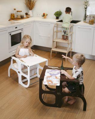 La tour Montessori, découverte, utilisation et guide d'achat.