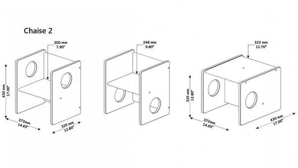 Dimension chaise montessori 2